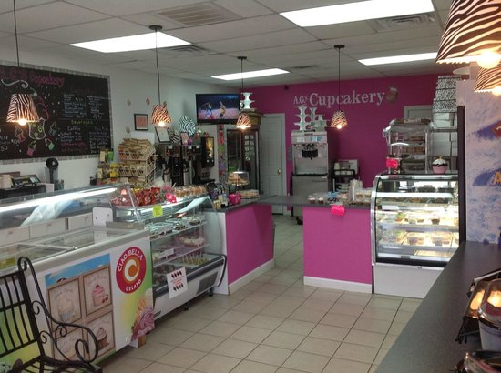 A.G's Cupcakery & Coffee Bar: Our Store