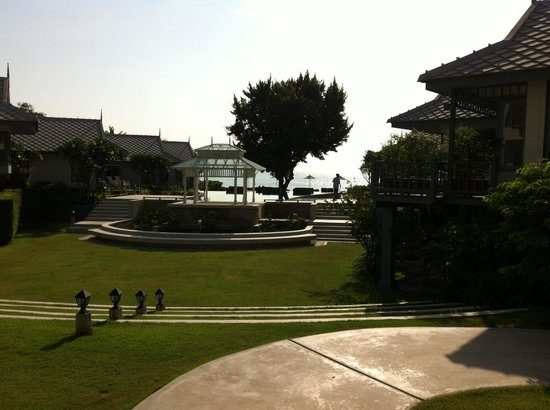Devasom Hua Hin Resort: A view of the spectacular hotel grounds