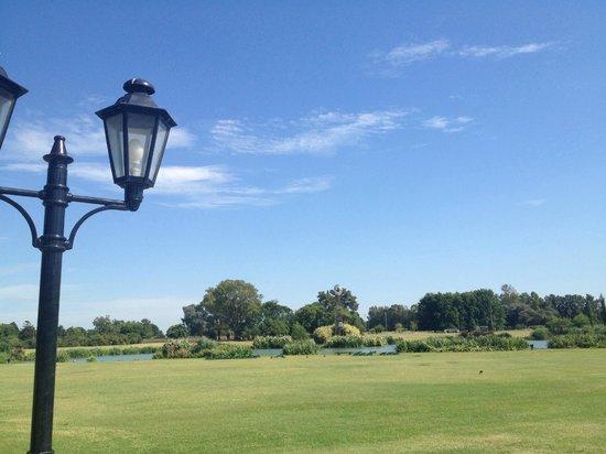 San Ceferino Hotel & Spa: la vista desde la piscina hacia la laguna es espectacular!!