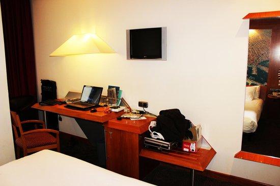 Abba Sants Hotel : Une vue de la chambre
