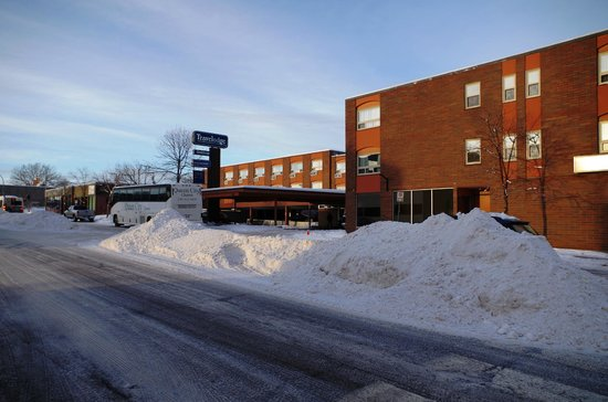 Travelodge Prince George: Winter scene January 2014