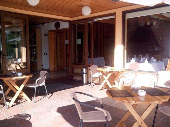 Pucon Green Park Hotel : Parte del restaurant