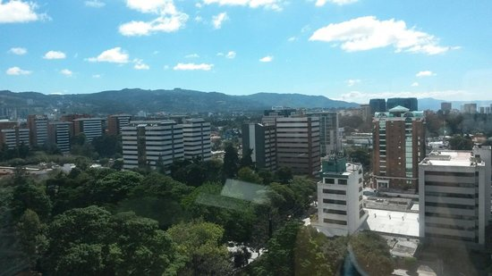 Clarion Suites Guatemala: This is the beautiful view ♥