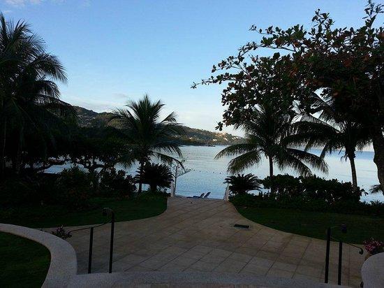 Round Hill Hotel & Villas: Temprano antes del desayuno....