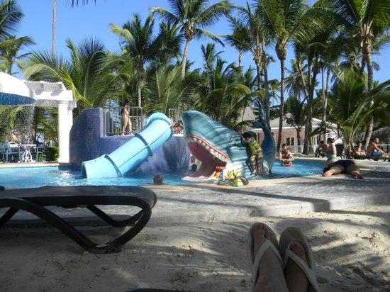 ClubHotel Riu Bambu : Glissades d'eau