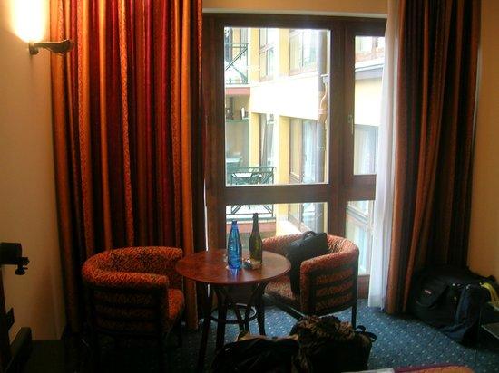 Parc Hotel Gritti: Zimmer ohne Balkon (günstigste Kategorie)