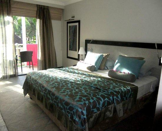 LUX* Saint Gilles : Un lit gigantesque