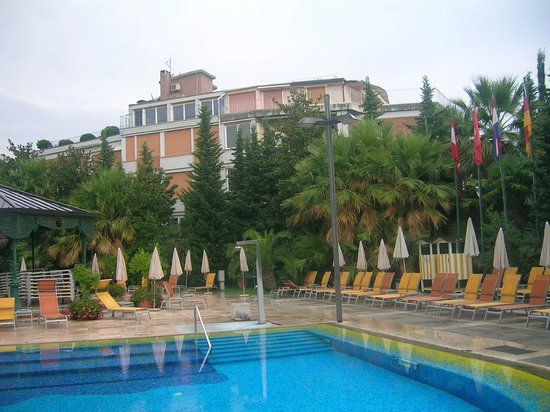 Parc Hotel Gritti : Poolbereich