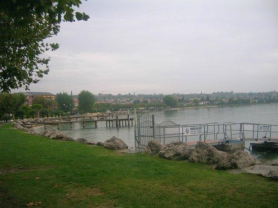 Parc Hotel Gritti : Gardasee - direkt vor dem Hotel