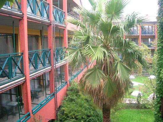 Parc Hotel Gritti : Zimmer mit Balkon (wir hatten jedoch ein Zimmer ohne Balkon)