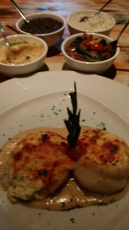 Yemanja Woodfired Grill: Grouper Italiano