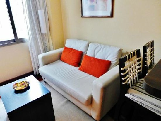 Ankara Suites: Our lounge room