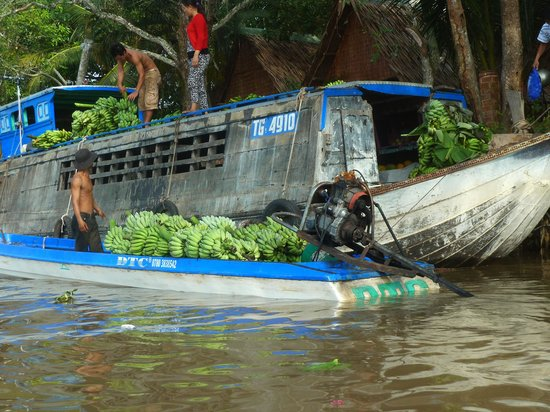 Mekong Delta Private Day Tour: rainy floating market