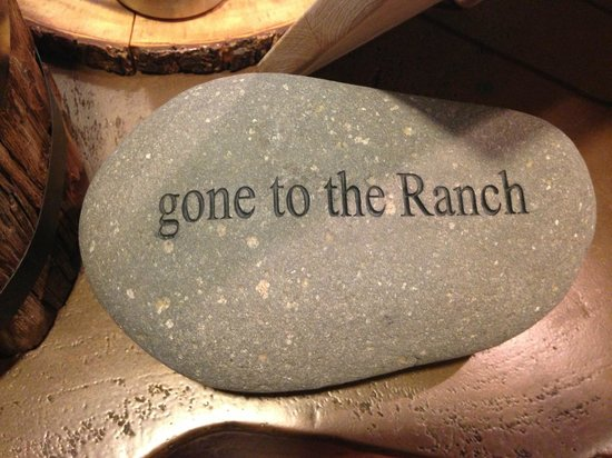 Carmel Valley Ranch: Our theme of the weekend! (Thanks for the photo Nancy)