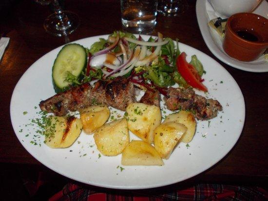 Elia: Pork Souvlaki