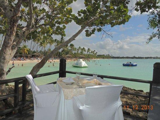 Dreams La Romana Resort & Spa: cena romantica