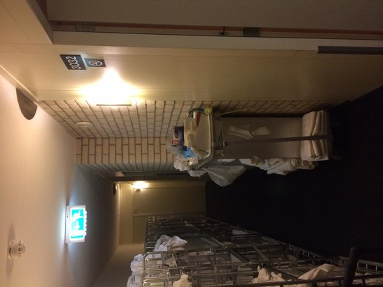 Best Western Amsterdam Airport Hotel: Don't try to exit!