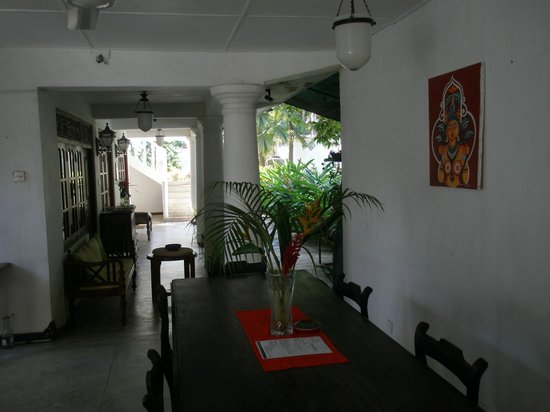 French Lotus Guest House: Breakfast area