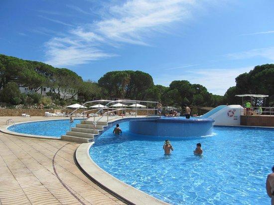 Camping La Siesta - Calella de Palafrugell : piscina grande