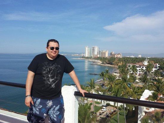 Plaza Pelicanos Grand Beach Resort: vista desde el jacuzzi del 9no piso