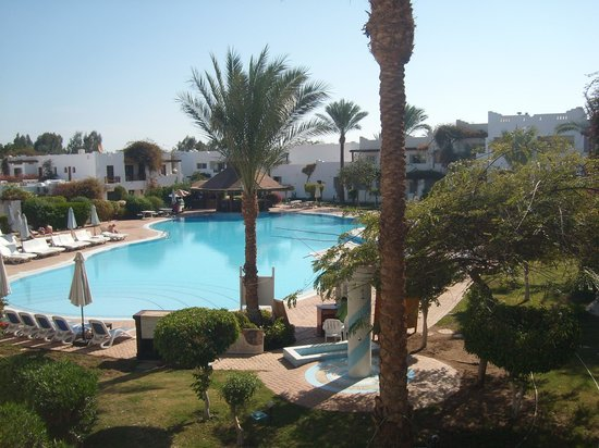 Mexicana Sharm Resort: view from our room