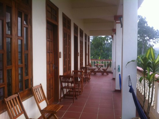 Phong Nha Farm Stay: Upstairs Balcony