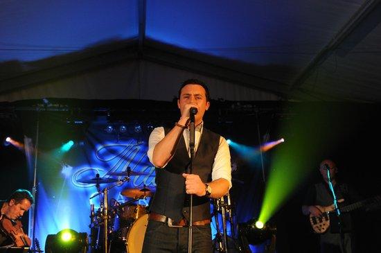 Nathan Carter performing at Basil Sheils in Tassagh