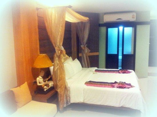 Secret Cliff Resort : deluxroom