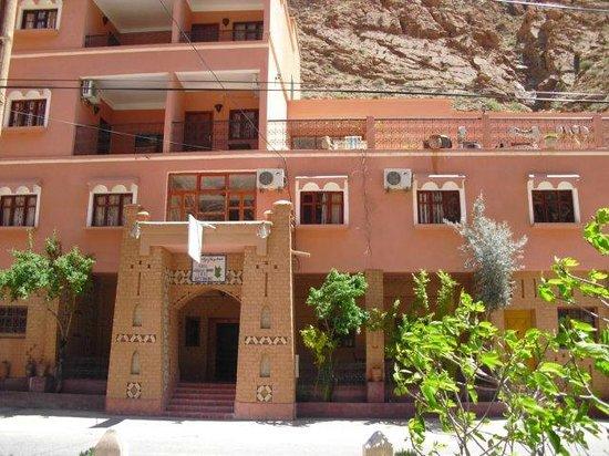 hotel la gazelle du dades : vu de hotel