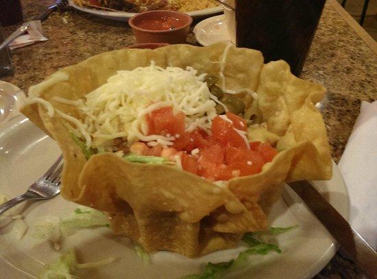 Los Amigos: taco salad
