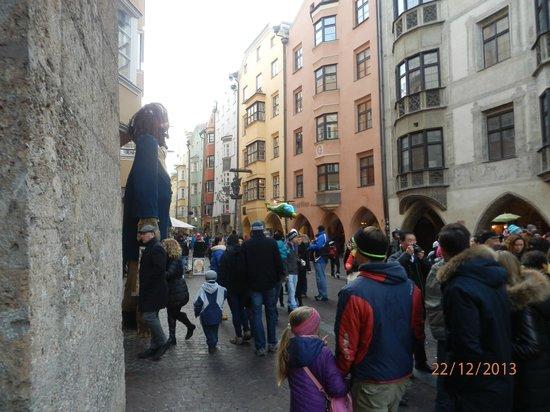 Altstadt von Innsbruck: centro