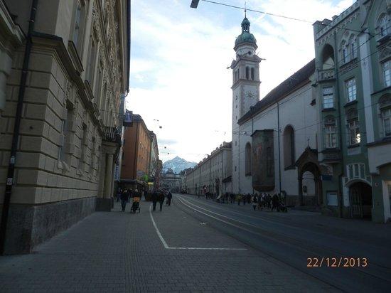 Altstadt von Innsbruck: via