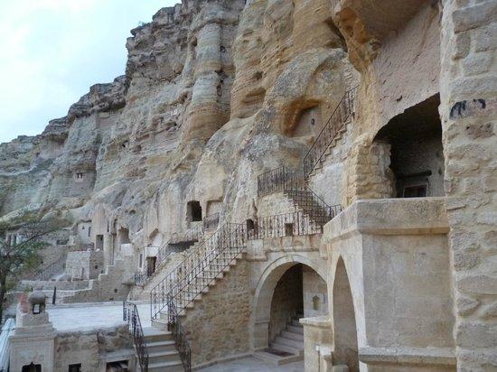 Yunak Evleri: Hotel area externa