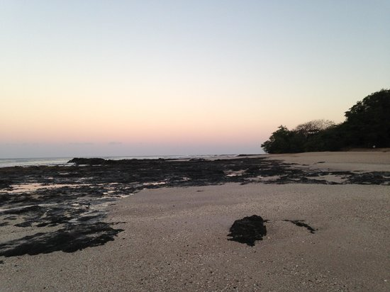 Occidental Tamarindo: walking along the beach