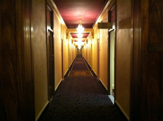 Hotel Whitcomb: Eerie corridors of the hotel