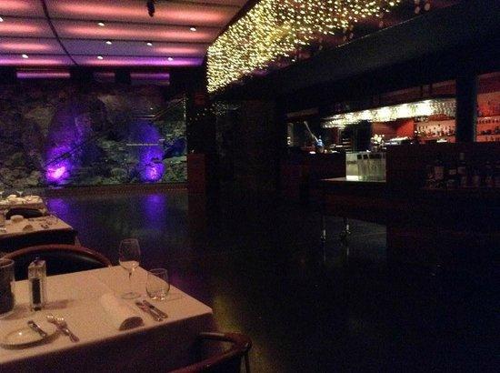 Blue Lagoon : underground restaurant