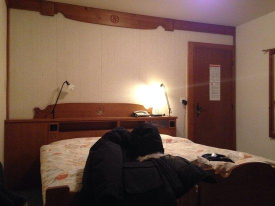 Zimmer Hotel Chesa Grischa