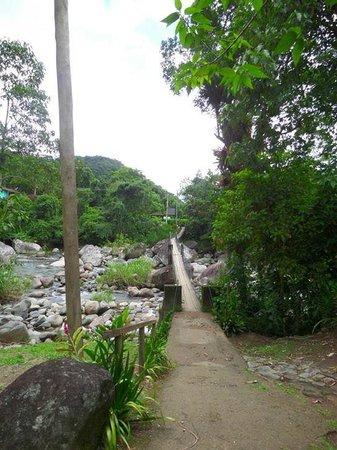 Restaurante Villa Verde : Ponte de acesso