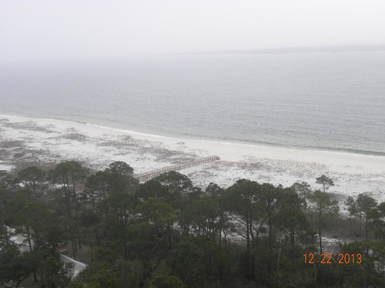 Pensacola Lighthouse and Museum: Ocean View from top