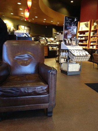 Starbucks: Leather Chairs