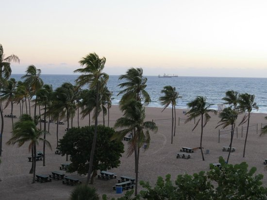 B Ocean Resort Fort Lauderdale: View from our room