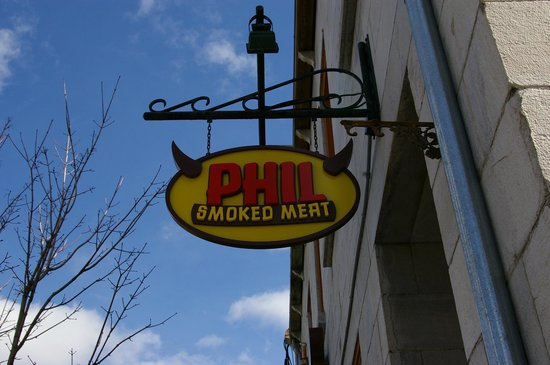 Phil Smoked Meat : enseigne valance