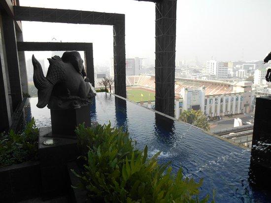 Siam@Siam Design Hotel Bangkok: Infinity pool