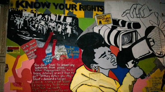 Harlem Heritage Tours: Harlem wall painting: photo says a lot, read the details