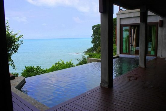 The Kala Samui: Presidential Suite with infinity pool and one of the bedrooms!