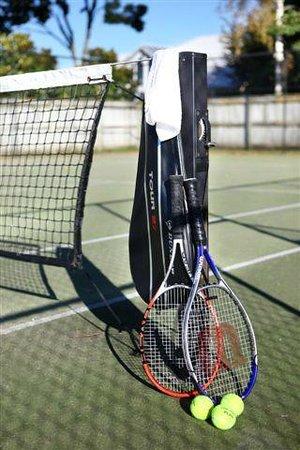 Bethlehem Motor Inn: Tennis court