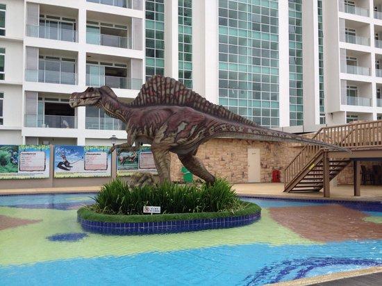 KSL Hotel & Resort: Dinosaur theme park