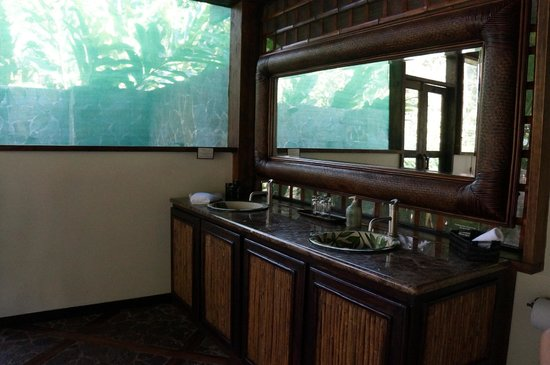Pacuare Lodge : Double sinks