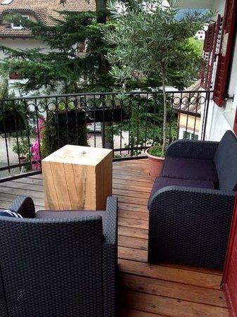 Boutique Hotel Zum Rosenbaum: Terrasse der Rosensuite