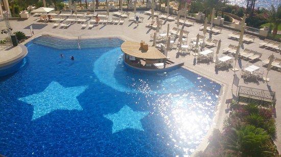 Stella Di Mare Beach Hotel & Spa : Vue de la chambre